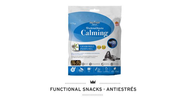 Functional Snacks antiestrés para perros Mediterranean Natural