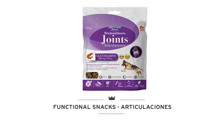 Functional Snacks articulaciones para perros Mediterranean Natural