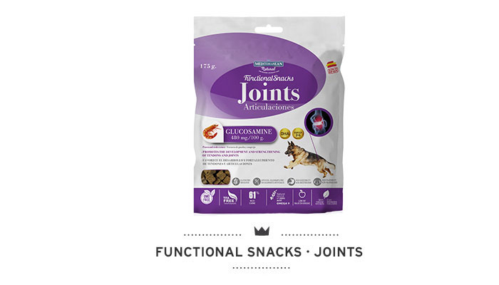 Functional Snacks joints for dogs Mediterranean Natural