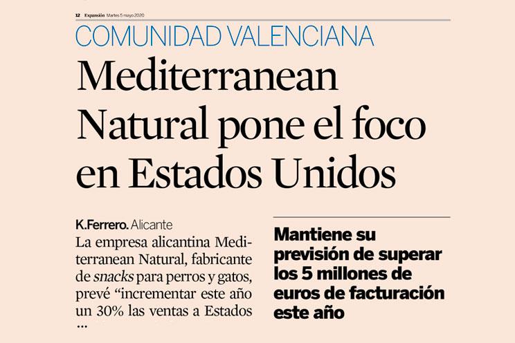 Mediterranean Natural: Artículo en Expansión 5 de mayo de 2020
