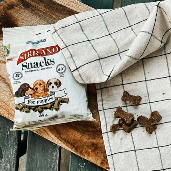 Serrano Snacks Para Cachorrros de Mediterranean Natural
