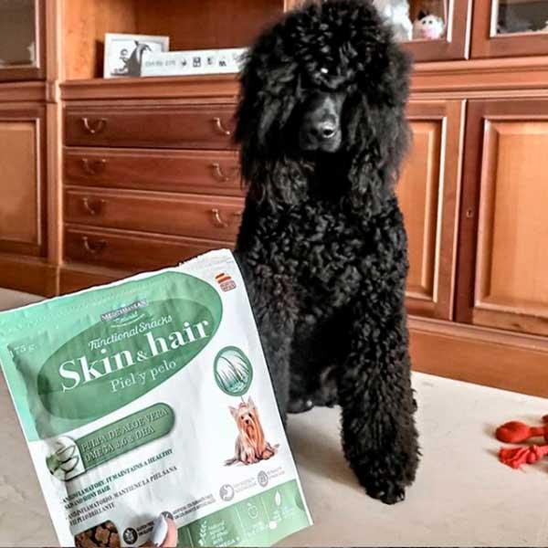 Jackyyeros Fnctional Snacks Piel y Pelo Para Perros Mediterranean Natural