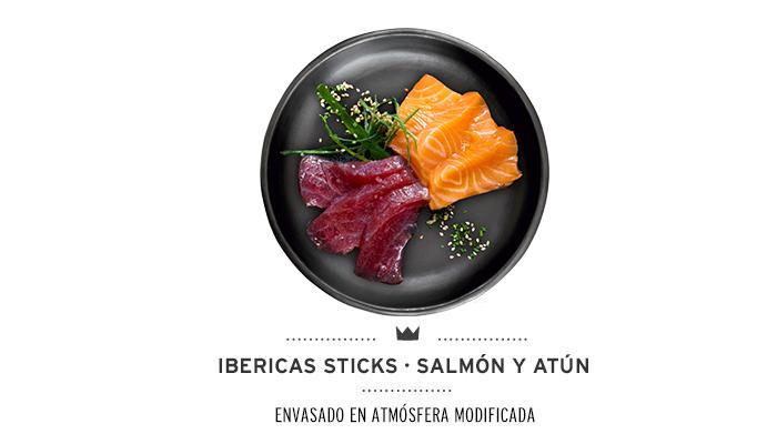Ibericas Sticks Salmón y Atún Mediterranean Natural Para Perros 1