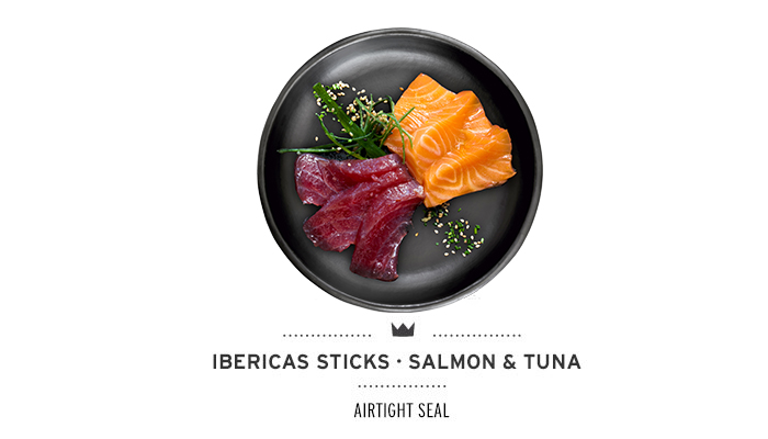 Ibericas Sticks Salmon & Tuna Mediterranean Natural For Dogs