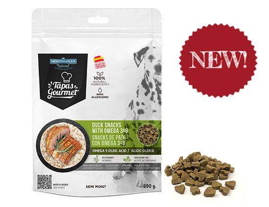 Bag Tapas Gourmet for dogs Mediterranean Natural. New