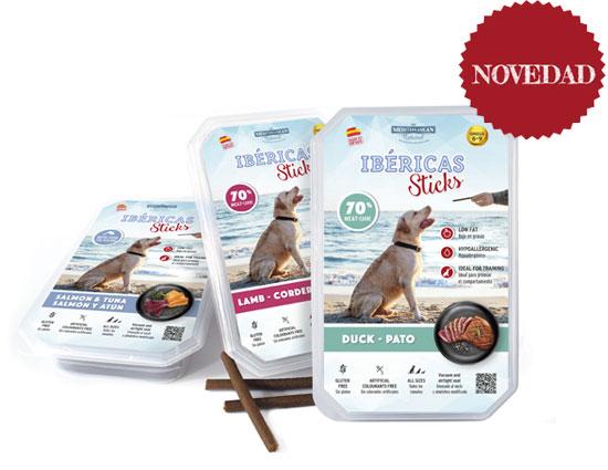Bodegón Ibéricas Sticks 800 gramos Mediterranean Natural para perros. Novedad