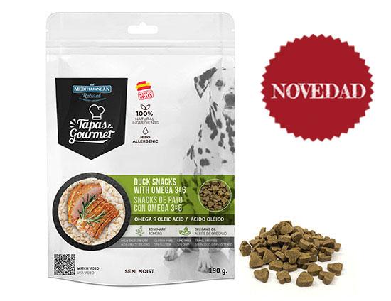 Bolsa Tapas Gourmet pato para perros. Novedad