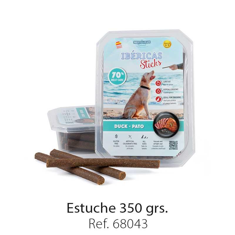 Estuche 350 Gramos Pato Mediterranean Natural Para Perros 1