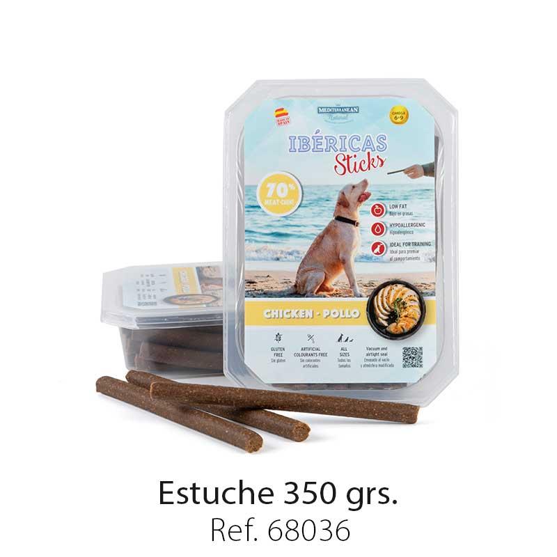 Estuche 350 Gramos Pollo Mediterranean Natural Para Perros 1