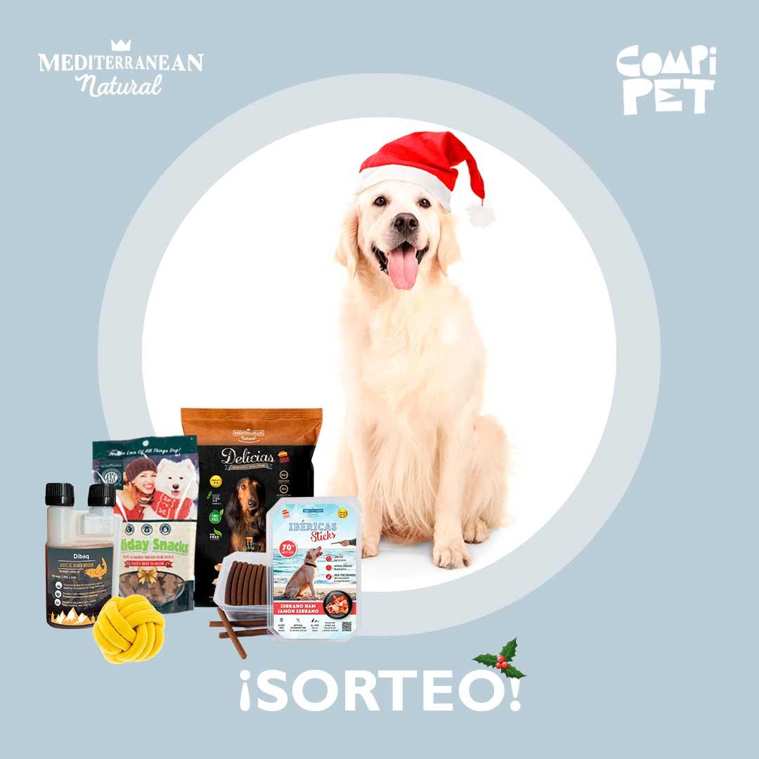 Sorteo perros Mediterranean Natural Navidad 2020
