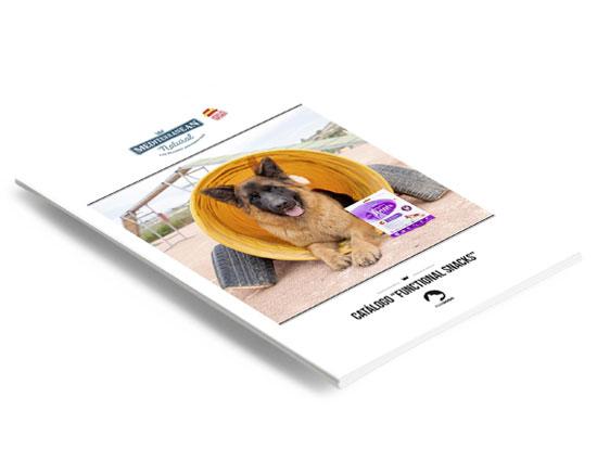 Ficha Functional Snacks para perros Mediterranean Natural