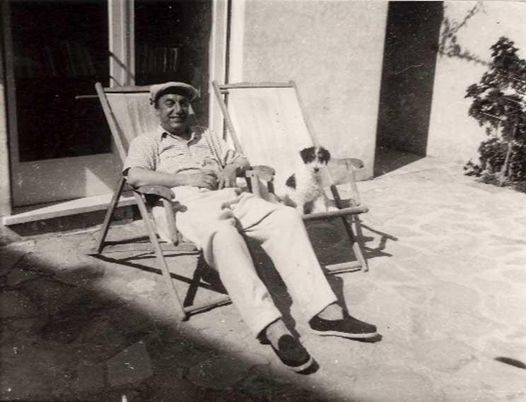 Pablo Neruda: el poeta y sus perros