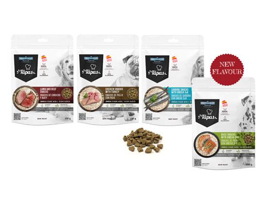 Bodegón Tapas for dogs Mediterranean Natural snacks