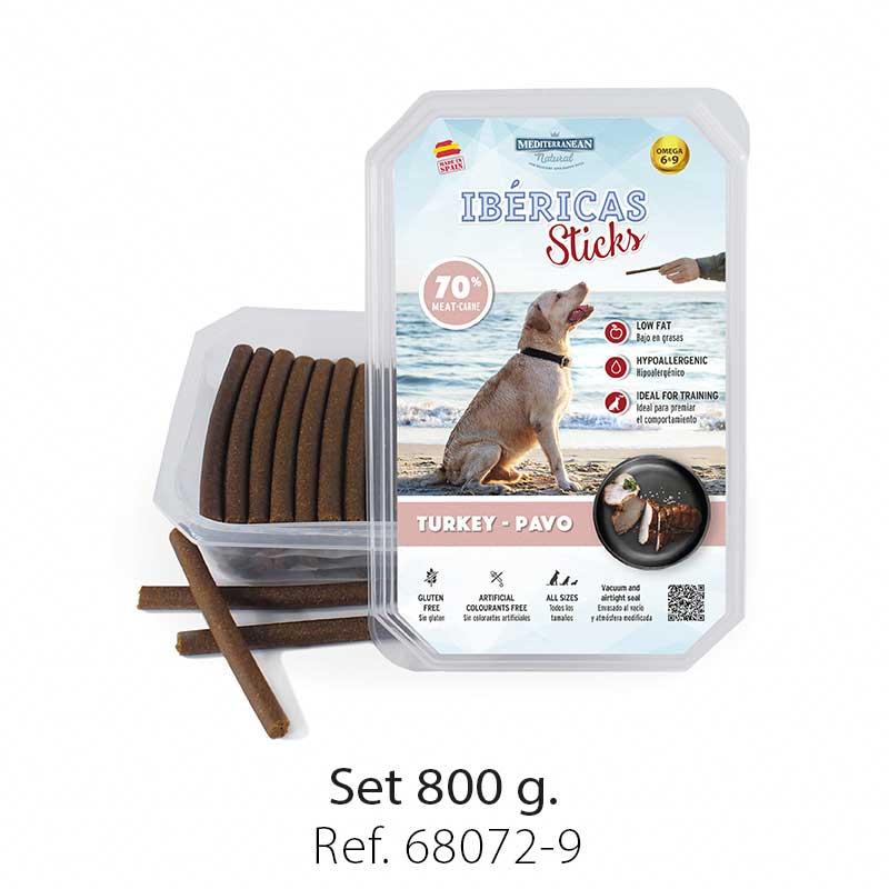 Ibericas Sticks for dogs turkey Mediterranean Natural