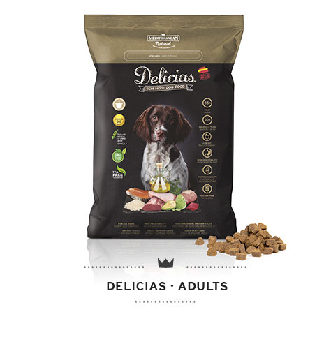 Delicias semi moist dog food